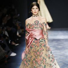 See all the Collection photos from Marchesa Autumn/Winter 2016 Ready-To-Wear now on British Vogue Marchesa 2016, Fall Winter, Autumn, Fairytale, Fashion Art, Evening Dresses, Ready To Wear, British, Vogue