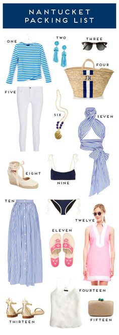 NANTUCKET PACKING LIST | Design Darling | Bloglovin'