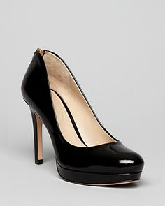work shoes! Joan & David Platform Pumps - Wilma Zipback | Bloomingdale's