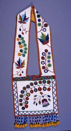 Ojibway Bandolier Bag