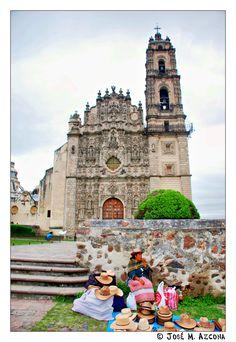 Templo de San Francisco Javier, Tepotzotlán_ Mexico