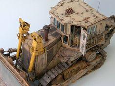 Cat D9R Armored Bulldozer