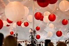 Mariage rouge: décoration et accessoires tendance - Tendance Boutik