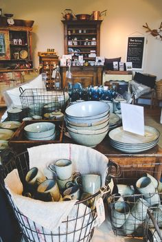 HOMER is a beautiful shop in Edinburgh where you can buy lots of high quality stuff for your home as well as vintage furniture.
