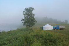 Кемпинг в тумане