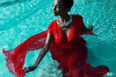 Black Beauty, photography by Franziska Nettel for HUF Magazine + Video