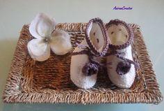 Hand knitted eco friendly cotton/silk cream rose by AniramCreates, £15.99