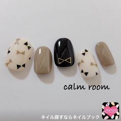 #mani #winter #bow