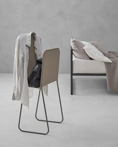 The new Oltre Society - Design Collection Valet Stand, News Design, Laundry Basket, Two By Two, Chair, Design Products, Furniture, Collection, Home Decor