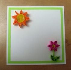 simple quilling for kids and beginers :)  quilling | Tumblr