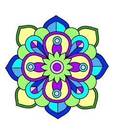 Mandalas coloreados fáciles - Mandalaweb Mandala Art, Mandala Design, Mandala Wallpaper, African Crafts, Fashion Artwork, Chalk Markers, Afghan Crochet Patterns, Mandala Coloring, Geometric Art