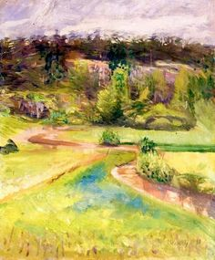 Edvard Munch - Landscape