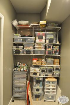 Vertical Shelves