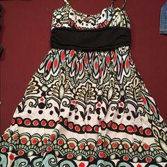 Cute sundress Colorful sundress ties in the back En focus studio Dresses Midi