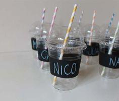 personaliza tus vasos de fiesta