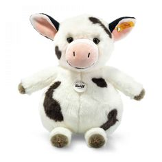 Buy Steiff: Happy Farm Cowaloo Cow - Spotted White/Black online and save! Steiff: Happy Farm Cowaloo Cow – Spotted White/Black Welcome to Steiff's Happy Farm! Of course, a cow should not be missing on a real farm. Pet Toys, Baby Toys, Kids Toys, Cow Spots, Turtle Plush, Baby Gorillas, Disney Plush, Kids Hands, Teddy Bear