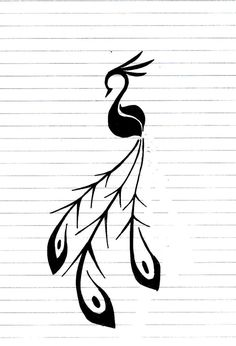 Tattoos are all about catching the eye of people around you. Peacock tattoos are just perfect for that. Here are some popular peacock tattoo designs till date. Feather Tattoo Design, Henna Tattoo Designs, Diy Tattoo, Tattoo Ideas, Lace Tattoo, Tattoo Black, Tribal Drawings, Tribal Tattoos, Tatoos