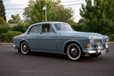 1965 Volvo 122S Amazon - got to drive this to high school (but without the white walls)