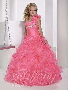 Girls Pageant Dresses by Tiffany Princess 13343 so sweet boutique