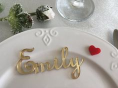 Wedding name cards Laser cut place cards Personalised wedding