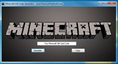 [opl_date]  Minecraft Gift Code GeneratorThanks for visiting our site. This Minecraft Gift Code Generator is for all of our loyal viewers. You can use this app ...