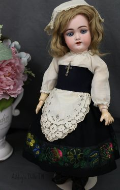 Antique Handwerck 109 Doll 17 in Antique German Bisque Doll Antique Clothing | eBay