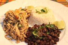 Cuban Pork With Black Beans And Rice