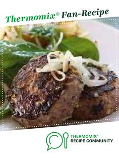 Recipe Beef Rissoles by learn to make this recipe easily in your kitchen machine and discover other Thermomix recipes in Main dishes - meat. Recipes Dinner, Meat Recipes, Cooking Recipes, Rissoles Recipe, Bbq Meat, Potato Pie, Beef Stroganoff, Recipe Community, Thermomix