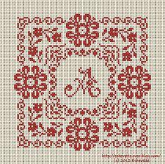Sweet little cross stitch chart