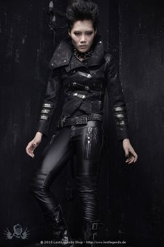 b9c1ff97f7b9b Gothic Punk Coat - Visual Kei Visual Kei