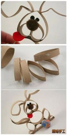 Toilet Paper Roll Crafts Crafty creations Toilet roll craft diy cozy home awesome paper roll craft ideas - Diy Crafts For Home Toilet Roll Craft, Toilet Paper Roll Art, Rolled Paper Art, Toilet Paper Roll Crafts, Diy Paper, Bunny Crafts, Paper Crafts For Kids, Easter Crafts, Diy For Kids