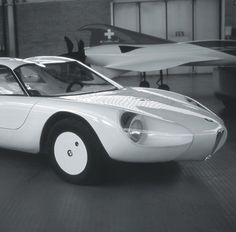 BMW 700, the world's first car with a self-supporting plastic monocoque car body, 1963 by Designer Luigi Colani