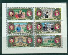 Central African Republic 1981 Charles & Diana Wedding Sheetlet MUH lot44893