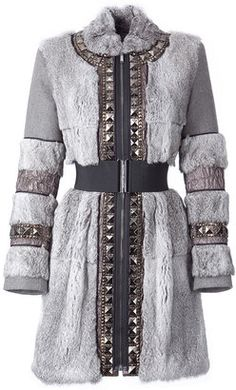 ShopStyle: Twenty8twelve Misty Grey Printed Silk Dress