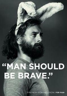 FCUK bunny...#HANDSOME