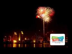 """San Diego, CA """"Big Bay Boom"""" July 4 Fireworks - Take in the largest display in the county, with fireworks launched from four barges strategically placed around North San Diego Bay, they can be seen from Shelter Island, Harbor Island, the Embarcadero area and Seaport Village/Coronado Landing."""