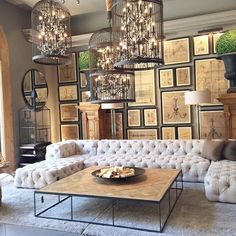 The things I would do to veg out on that couch daily  #goals #restorationhardware
