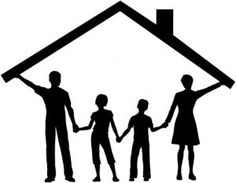 Illustration about Silhouette family safe at home as mom and dad hold up the roof over kids. Illustration of building, parents, housing - 18548925 Happy Kids Quotes, Quotes For Kids, Family Quotes, Quotes Children, Happy Children, Silhouette Family, Broken Home, Christian Parenting, Child Development