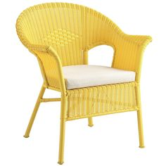 Casbah Yellow Stacking Chair