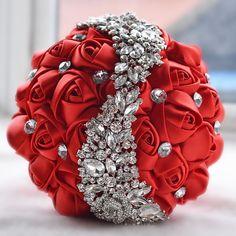 Crystal Wedding Brooch Bouquet