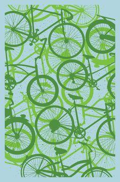 Subject Matter Bicycle Art Print $20