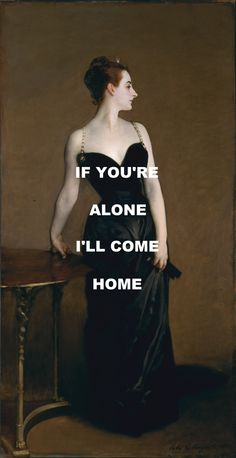 San Tropez - Pink Floyd / Madame X - John Singer Sargent(requested a while bqack by a lovely anon - hope you like it!)
