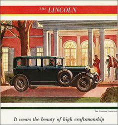 1930 Lincoln Standard Limousine