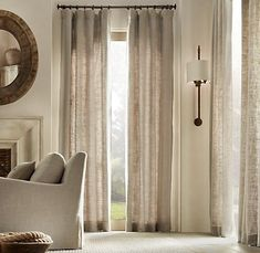 Love these curtains!  Especially when they are on discount at the Outlet in Wrentham!
