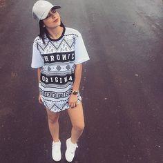 Look lindo da youtuber Amanda pontes Quem ai não se apaixonou?