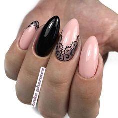 Best Beauty Nails Part 5 Beautiful Nail Art, Gorgeous Nails, Pretty Nails, Fun Nails, Lace Nails, Flower Nails, Lace Nail Art, Elegant Nails, Stylish Nails