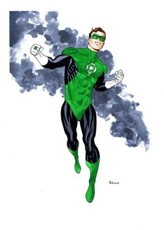 Green Lantern by Mike McKone