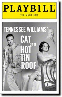 Cat on a Hot Tin Roof Playbill Covers on Broadway - Information, Cast, Crew, Synopsis and Photos - Playbill Vault