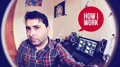 Every week we ask notable people how they do what they do, and now it's our turn at the table. I'm Andy and here are my slightly embarrassing work habits and habitat. This is how I work.