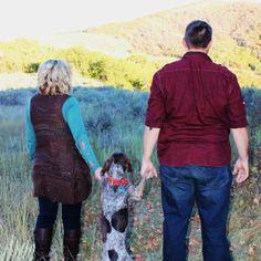 Hahaha best family photo with a dog!!